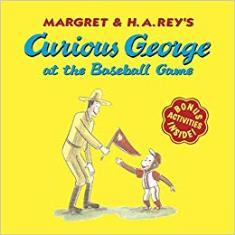 Curious George At The Basetball Game
