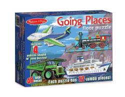 Going Places Floor Puzzle