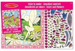 Peel And Press by Numbers Flower Garden Fairy
