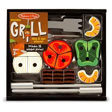 Grill Slice & Sort Playset